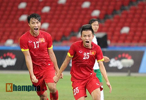 """U23 Việt Nam """"bùng cháy"""" trước U23 Indonesia tri ân CĐV - 8"""