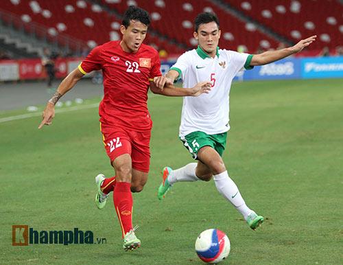 """U23 Việt Nam """"bùng cháy"""" trước U23 Indonesia tri ân CĐV - 9"""