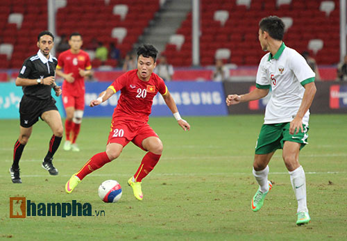 """U23 Việt Nam """"bùng cháy"""" trước U23 Indonesia tri ân CĐV - 10"""