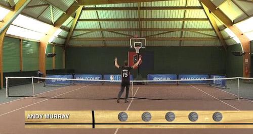 Tennis 24/7: Murray thất bại với bóng rổ - 2