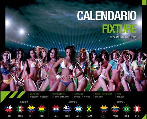"""Dàn mỹ nữ """"đốt cháy"""" Copa America 2015 - 1"""
