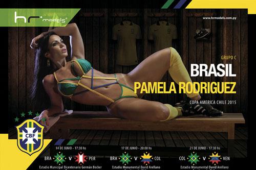 """Dàn mỹ nữ """"đốt cháy"""" Copa America 2015 - 4"""
