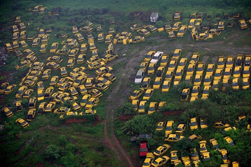 """""""Nghĩa địa"""" xe cộ khổng lồ trên khắp Trung Quốc - 1"""