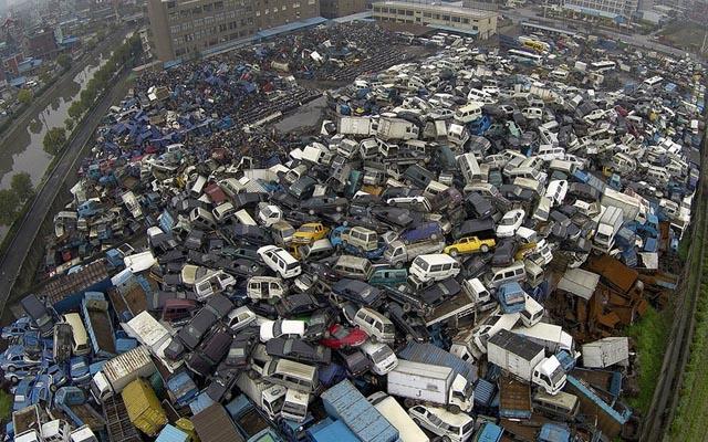 """""""Nghĩa địa"""" xe cộ khổng lồ trên khắp Trung Quốc - 4"""