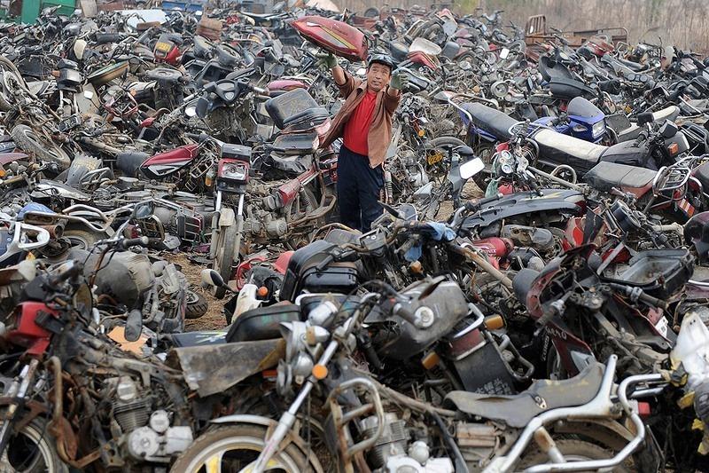 """""""Nghĩa địa"""" xe cộ khổng lồ trên khắp Trung Quốc - 9"""