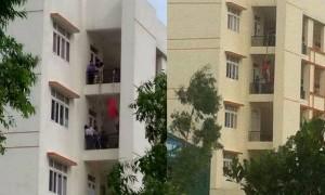 Thất tình, nữ sinh mặc đồ đỏ treo cổ tự tử tại trường