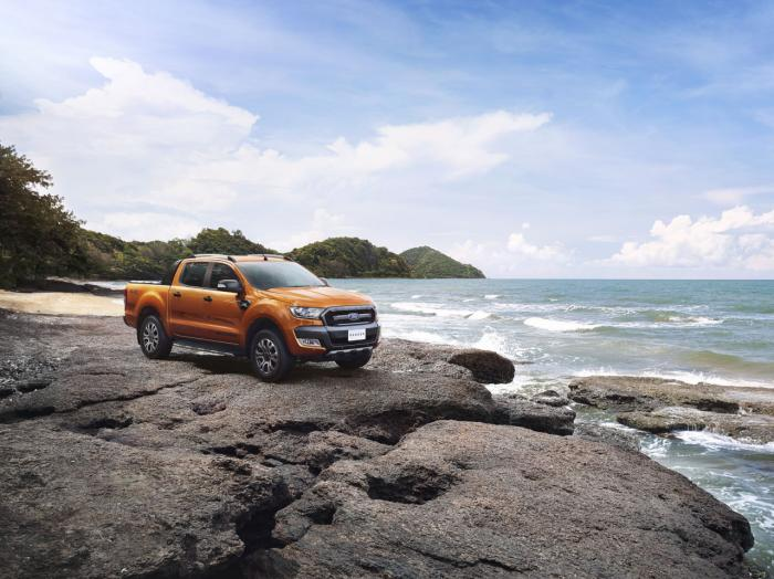 Ford ra mắt xe bán tải Ranger Wildtrak mới - 1