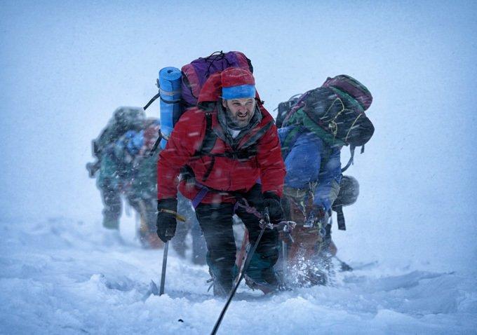 Thảm họa bão tuyết Everest tung poster cực chất - 1