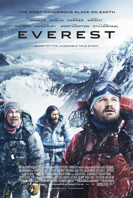 Thảm họa bão tuyết Everest tung poster cực chất - 3