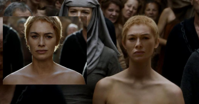 Fan la ó cảnh Hoàng hậu khỏa thân - 3