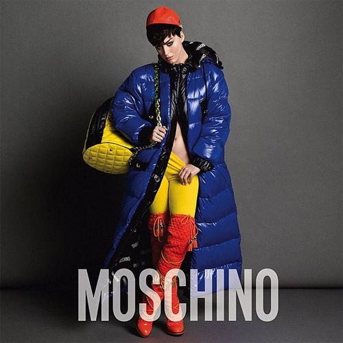 Katy Perry hở nửa người làm nàng thơ của Moschino - 2