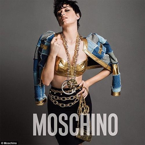 Katy Perry hở nửa người làm nàng thơ của Moschino - 5