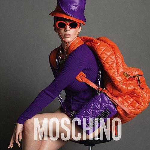 Katy Perry hở nửa người làm nàng thơ của Moschino - 6