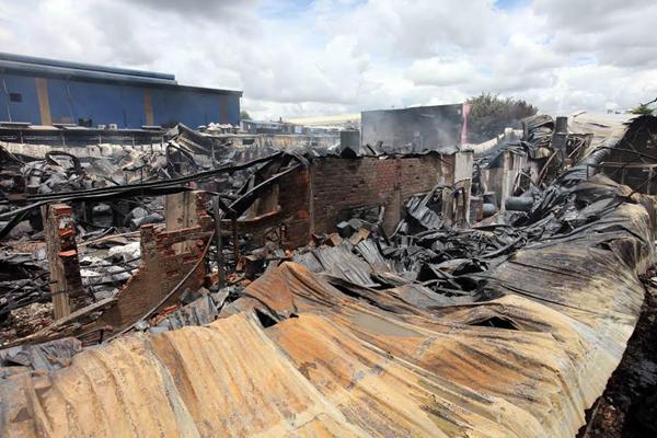 Cháy lớn cụm công nghiệp tại Long An - 3
