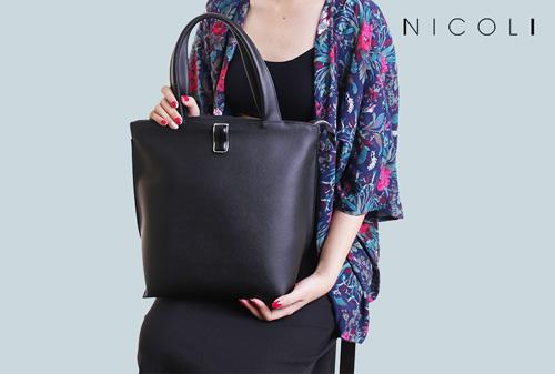 Bắt nhịp thời trang Ý với túi xách hiện đại của Nicoli - 1