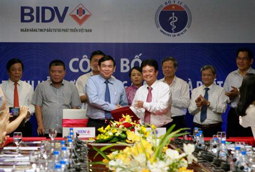 BIDV công bố chương trình hỗ trợ tín dụng & phát triển các bệnh viện - 1