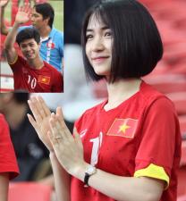 Hòa Minzy sang Singapore cổ vũ Công Phượng