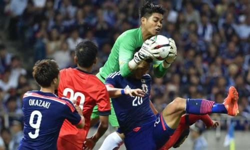 Tuyển Singapore gây sốc khi cầm hòa Nhật Bản 0-0 tại Saitama ở VL World Cup - 1
