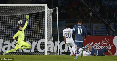 TRỰC TIẾP Argentina - Uruguay: Phút cuối nghẹt thở (KT) - 5