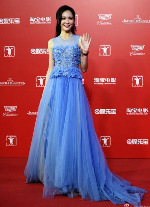 """12 chiếc váy """"ồn ào"""" nhất Liên hoan phim Thượng Hải - 6"""