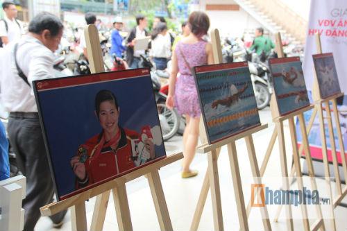 Giới trẻ TP.HCM cảm phục tấm gương sáng Ánh Viên - 2