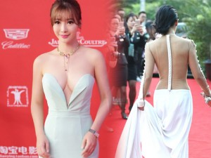 """12 chiếc váy """"ồn ào"""" nhất Liên hoan phim Thượng Hải"""