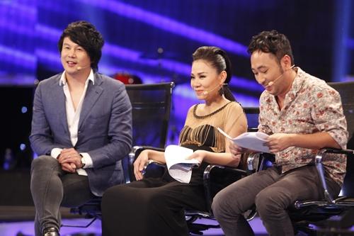 Thu Minh trở lại Vietnam Idol chưa đầy 1 tháng sau sinh - 1
