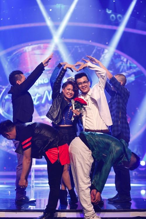 """""""Ma cà rồng"""" cá tính bất ngờ bị loại khỏi Vietnam Idol - 5"""