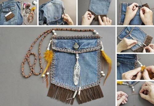 """1001 cách """"tái chế"""" quần jeans cũ - 3"""