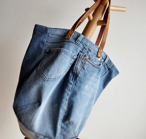 """1434935361 ldth1 pdru 1001 cách """"tái chế"""" quần jeans cũ"""