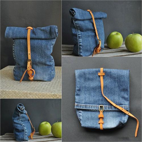 """1001 cách """"tái chế"""" quần jeans cũ - 5"""
