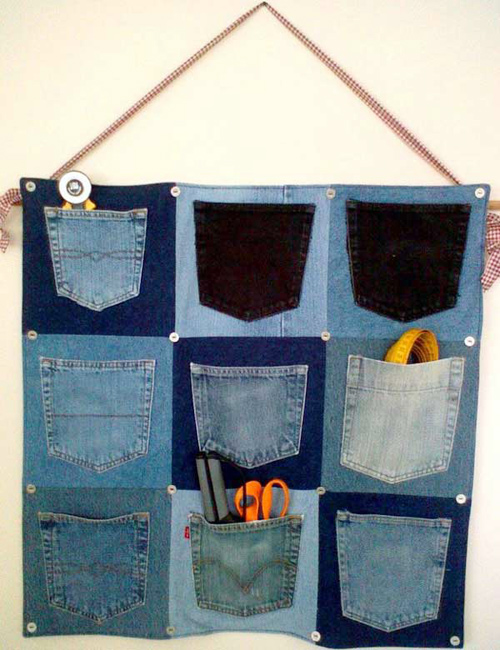 """1434935361 utfe12 mezv 1001 cách """"tái chế"""" quần jeans cũ"""