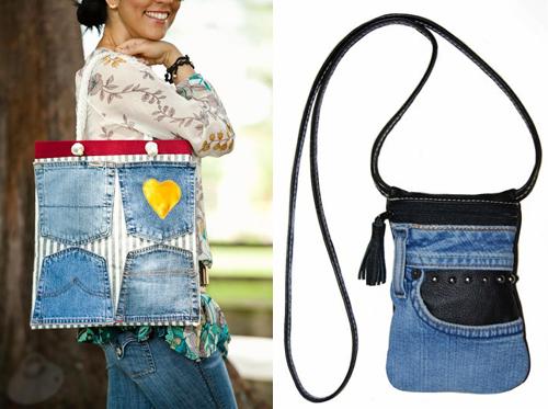 """1001 cách """"tái chế"""" quần jeans cũ - 8"""