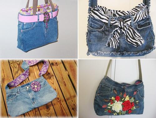 """1001 cách """"tái chế"""" quần jeans cũ - 7"""