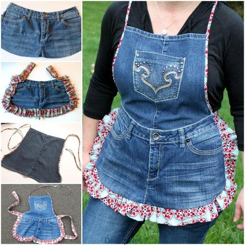 """1434935362 shmb4 bjry 1001 cách """"tái chế"""" quần jeans cũ"""