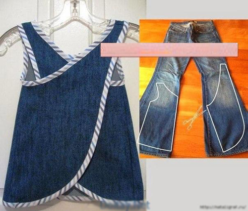 """1001 cách """"tái chế"""" quần jeans cũ - 14"""