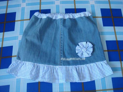 """1001 cách """"tái chế"""" quần jeans cũ - 13"""