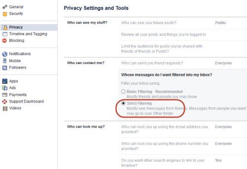 """Cách chặn tin nhắn rác như """"dịch bệnh"""" trên Facebook - 3"""