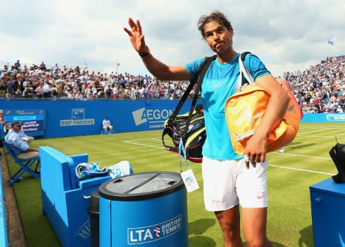 """Nadal và """"núi khó khăn"""" tại Wimbledon 2015 - 1"""