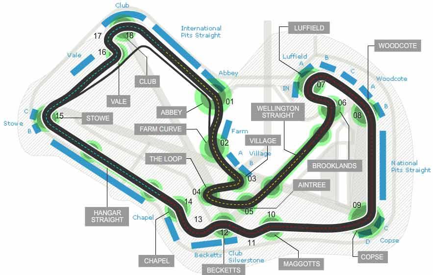 Lịch thi đấu F1: British GP 2015 - 1