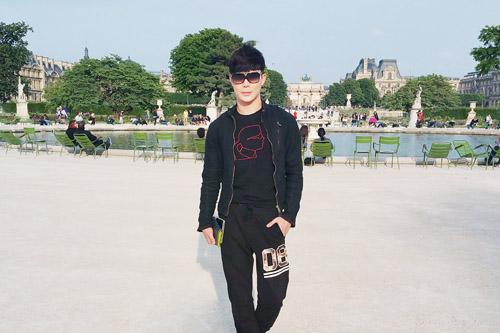 Nathan Lee khoe vẻ lãng tử trên phố Paris - 7