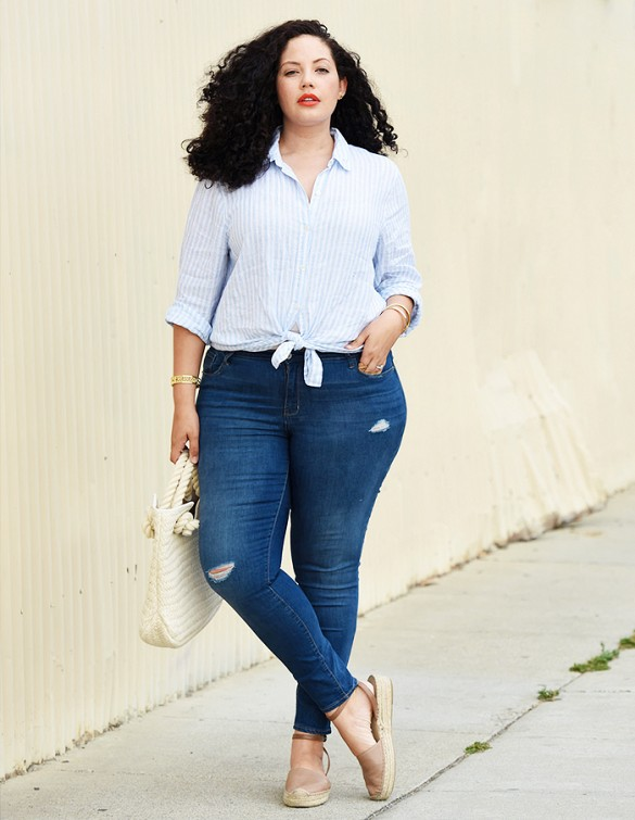 14 cách mặc giúp nàng mập bớt béo - 1