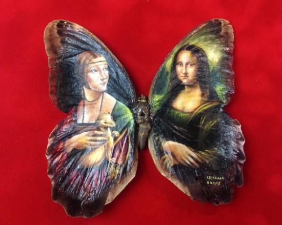 """Clip vẽ tranh trên cánh bướm """"hớp hồn"""" triệu người - 4"""