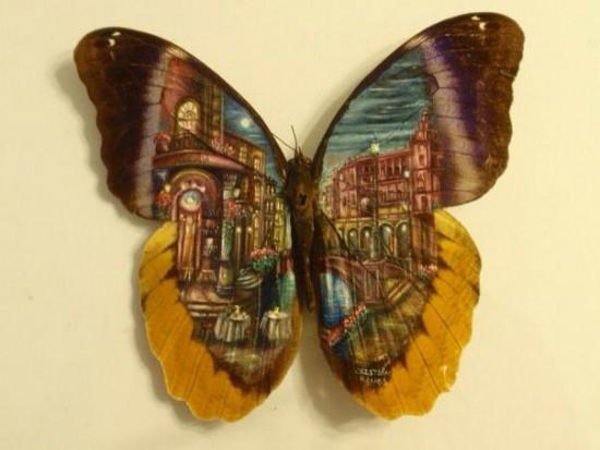 """Clip vẽ tranh trên cánh bướm """"hớp hồn"""" triệu người - 9"""