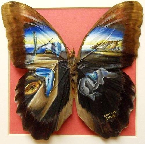 """Clip vẽ tranh trên cánh bướm """"hớp hồn"""" triệu người - 8"""