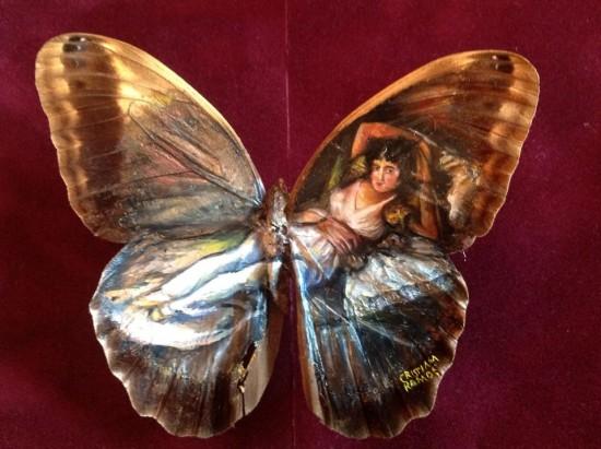 """Clip vẽ tranh trên cánh bướm """"hớp hồn"""" triệu người - 5"""