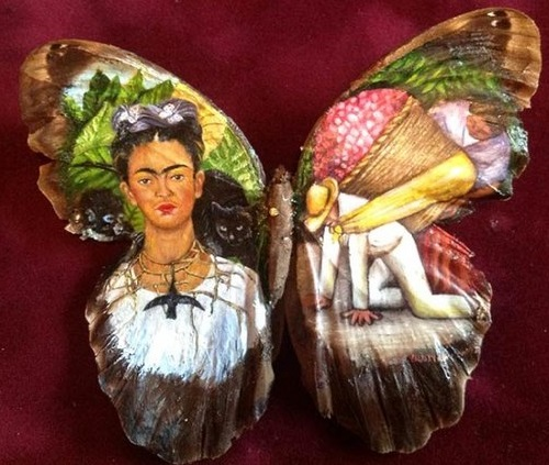 """Clip vẽ tranh trên cánh bướm """"hớp hồn"""" triệu người - 6"""