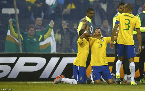 Brazil vắng Neymar: Cái khó ló cái hay - 2