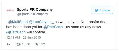 Cech phủ nhận chuyển tới Arsenal - 1