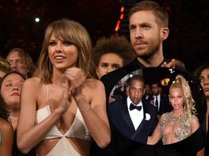 Cát-xê của Taylor Swift và bạn trai đánh bật nhà Beyonce